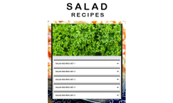 Salad recipe screenshot 1/3