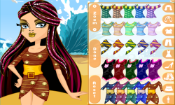 Monster High Cleo de Nile Skull Shores Style screenshot 2/3