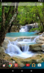 Waterfall HD Wallpaper live screenshot 5/6