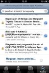 PubMed Library screenshot 1/1