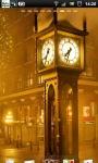 Steam Clock Street Live Wallpaper screenshot 1/6