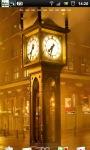 Steam Clock Street Live Wallpaper screenshot 2/6