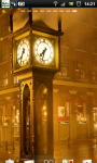 Steam Clock Street Live Wallpaper screenshot 3/6