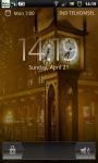 Steam Clock Street Live Wallpaper screenshot 4/6