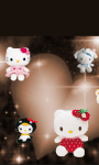 Hello Kitty Cute 3D Wallpaper  screenshot 3/6