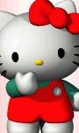 Hello Kitty Cute 3D Wallpaper  screenshot 4/6