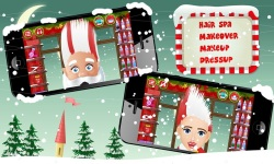 Santa Hair Saloon Lite screenshot 1/5