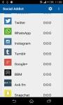 Social Network Monitor screenshot 2/4