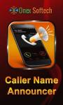 New caller name Announcer screenshot 1/4