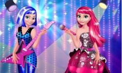 Elsa And Anna In RockNRoyals screenshot 3/3