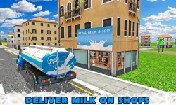 Transport Truck Milk Delivery screenshot 4/4