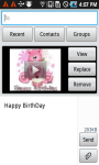 Birthday Video SMS screenshot 6/6