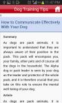 Dog Training Tips And Tricks  screenshot 4/5