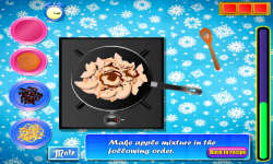Elsa Cooking Applepie screenshot 3/4