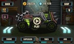 Zombie road racing screenshot 2/6