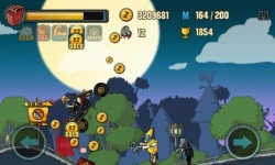 Zombie road racing screenshot 5/6