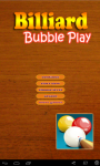 Billiard Bubble Play screenshot 1/6