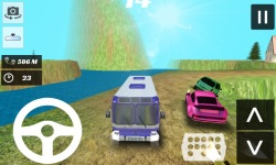 Real Bus Simulator Off-Road 3D screenshot 2/4