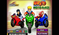 Moto Race Naruto  screenshot 1/3