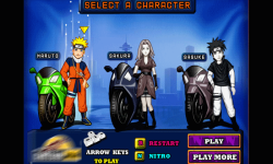 Moto Race Naruto  screenshot 2/3