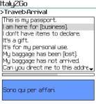 HNHSoft Italy2Go Talking Phrase Book screenshot 1/1
