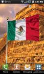 Mexico Flag Live Wallpaper screenshot 2/2