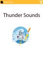 Thunder sounds screenshot 1/3