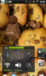 Chocolate Cookies Crunch Live Wallpaper screenshot 2/6