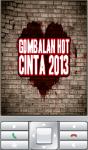 Gombalan Hot Cinta 2013 screenshot 1/2