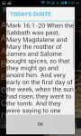 Bible Quotes english screenshot 1/4