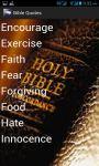 Bible Quotes english screenshot 3/4