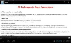 50 Techniques To Boost Conversions screenshot 1/3