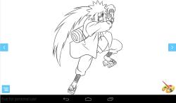 Coloring: Naruto screenshot 1/3
