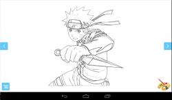 Coloring: Naruto screenshot 2/3