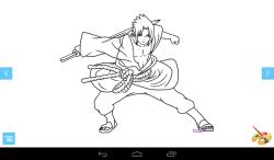 Coloring: Naruto screenshot 3/3