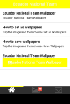 Ecuador National Team Wallpaper screenshot 2/5
