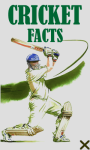 Cricket Facts 240x400 screenshot 1/1