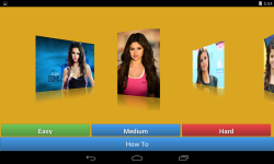 Selena Gomez jigsaw puzzle game	 screenshot 1/6