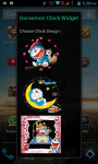 Doraemon Android Clock Widget screenshot 2/4