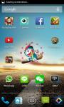 Doraemon Android Clock Widget screenshot 3/4