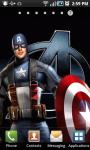 Captain America LWP screenshot 1/3