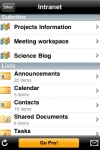 SharePlus Lite Office Mobile Client screenshot 1/1