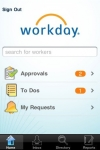 Workday screenshot 1/1