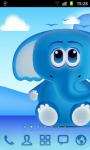 Cool Blue Theme Go Launcher  screenshot 3/3