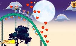 Nutty Fluffies Rollercoaster screenshot 1/2