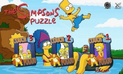 The Simpsons-Puzzle screenshot 1/3