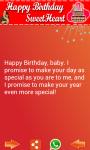 Birthday SMS Greetings screenshot 1/3