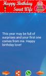 Birthday SMS Greetings screenshot 2/3