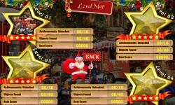 Free Hidden Object Game - Street Christmas screenshot 2/4