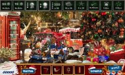 Free Hidden Object Game - Street Christmas screenshot 3/4